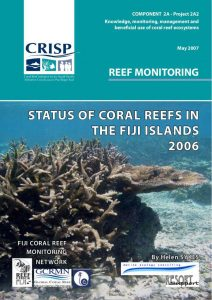 Status Of Coral Reefs In The Fiji Islands 2006 (CRISP)