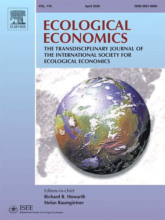 Publication: Ecological Economics