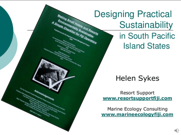 Designing Practical Sustainability in South Pacific Island States