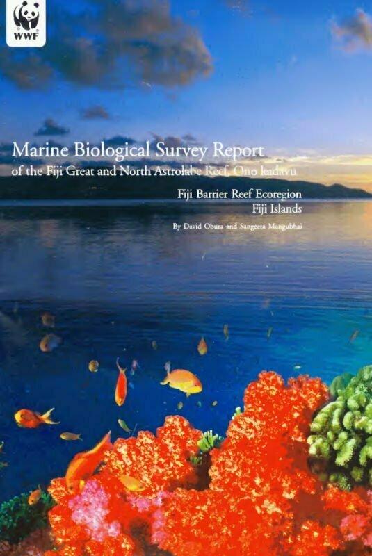 20 Years Ago! WWF Marine Survey – Great Astrolabe & North Astrolabe Reefs, Kadavu So we just realised that the WWF Marine Survey – Great Astrolabe & North Astrolabe Reefs, Kadavu research trip was 20 years ago this week!